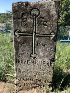 Mormântul părintelui Ioan din cimitirul vechi