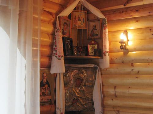 Colțar sacru - luminos și binecuvântat